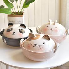 Garnek garnek domowy gaz kreskówka ceramiczny otwarty ogień odporna na wysokie temperatury glina mały kot panda bełkowaty gulasz pan tanie i dobre opinie CN (pochodzenie) Ekologiczne 20 cm Z pokrywą garnka 0 9-3L Zapiekanki