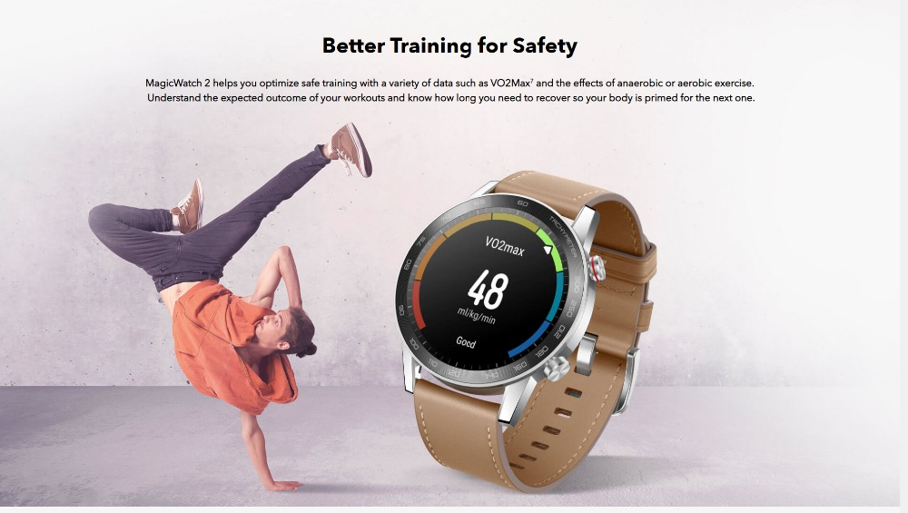 Honor Magic Watch 2 Smart Watch Bluetooth5.1 Smartwatch Not GT 2 Waterproof 14 Days Smart Sports Watch  Heart RatFor Android iOS (13)