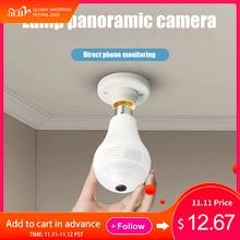 הנורה מצלמה אור WiFi Lampada Wifi 960P 1080P מנורת IP מצלמה 360 אלחוטי פנורמי בית אבטחת CCTV Fisheye אבטחת בית