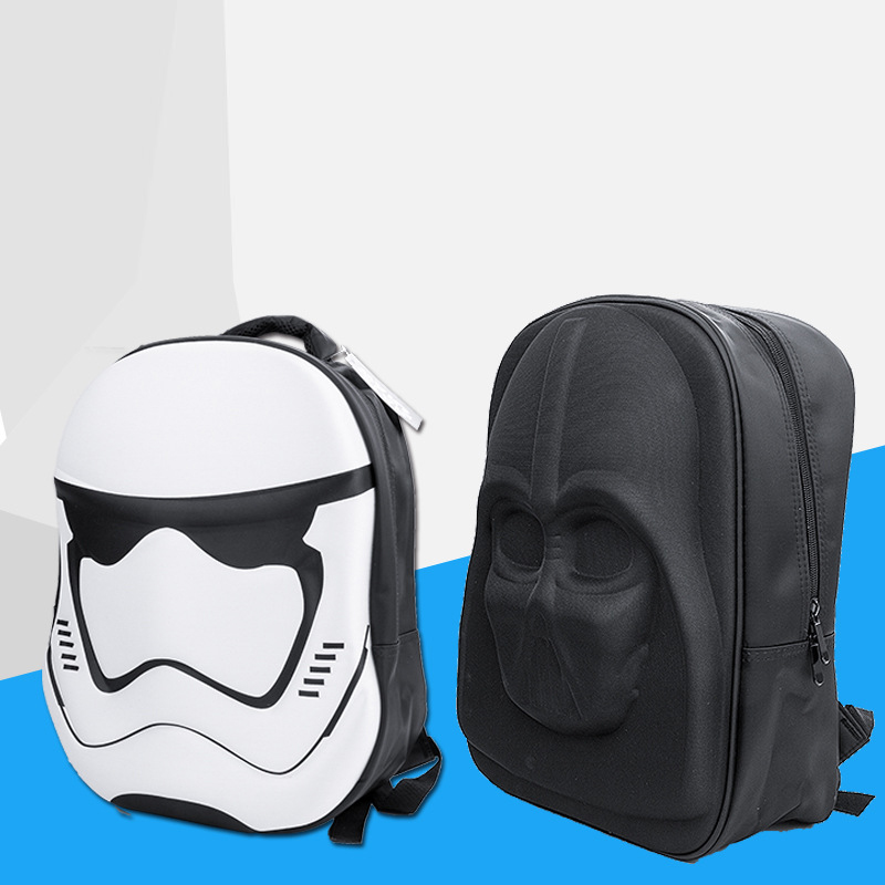 Fashoin 3D Star Wars Backpack Darth Vader Backpacks Teenage Backpacks For Girls School Bags Laptop Backpack Male Mochilas