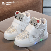 Size 21-30 Children's Shoes Girls Sneakers Kids Sho