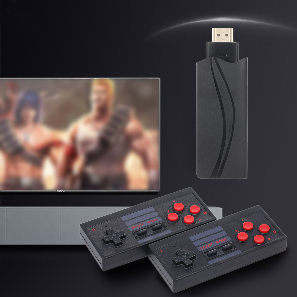 4K HD Video Game Console Built in 568 Classic Games Mini Retro Console 2 4G Wireless Controller HD Output Dual Players 1080P