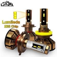 LSlight LED פנס H7 H4 H11 H1 9006 HB2 HB4 H8 H9 LED אוטומטי הנורה 6000K 9600LM 72W 12V 24V רכב אור דיודה קרח מנורות luces