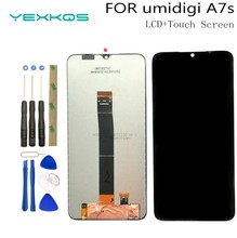 6.53 inch New UMIDIGI A7s LCD Display+Touch Screen Digitizer Assembly 100% Original LCD+Touch Digitizer for UMIDIGI A7S+Tools