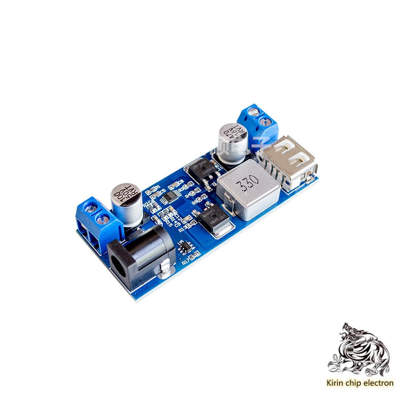 2pcs / Lot 24V / 12V To 5V 5A Power Module DC-DC Xy-3606 Power Converter Over Lm2596s