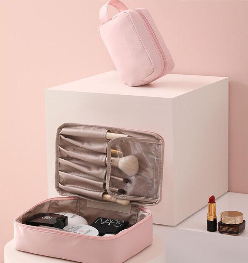 Women's Cosmetic Bag Multifunction Tool Bag Portable Travel Washing Storage Bag Cosmetic Case Cosmetic Kit Storage Bag