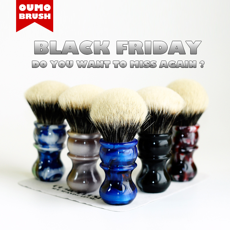 OUMO BRUSH-  Venus Shaving Brush With SHD Manchuria Badger Knots