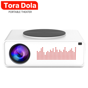 Tora Dola Real Full HD Projector TD02 6500 Lumen Optional Android 10.0 OS Home Theater HDMI LED Projector for PS5 X Box