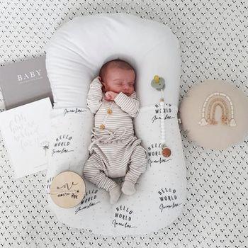 75*45cm Baby Lounger Baby Nest for Newborn Baby Portable Baby Crib Carrycot Bed Chichonera Cuna Bebe tanie i dobre opinie Unisex W wieku 0-6m 7-12m 13-24m 25-36m CN (pochodzenie) Tkaniny Przenośne Stałe baby nest bed baby nest newborn baby bed