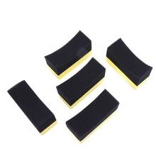 5x Professional Automotive Car Wheel Washer Tyre Tire Dressing Applicator Curved