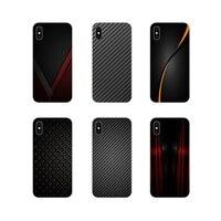 Voor Xiaomi Mi4 Mi5 Mi5S Mi6 Mi A1 A2 A3 5X 6X 8 Cc 9 T Lite Se Pro Accessoires telefoon Gevallen Covers Auto Carbon Fiber Print