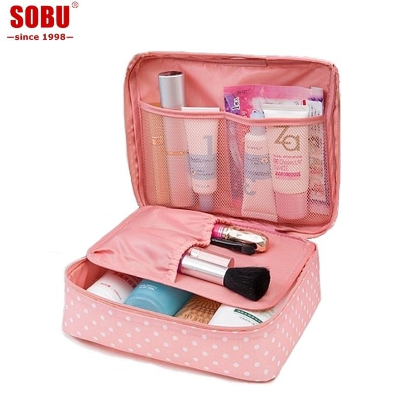 2019 New Multifunction Travel Cosmetic Bag  Makeup Bag Women Portable Waterproof Wash Bag Make Up Cases