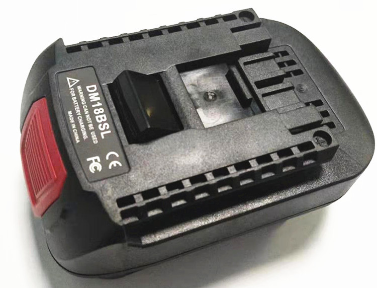 DM18BSL Battery <font><b>Adapter</b></font> Charger for Dewalt 20V Max to <font><b>Bosch</b></font> <font><b>18V</b></font> DCB200 M18 to <font><b>Bosch</b></font> Bat610 Battery Power Tool Replacement image