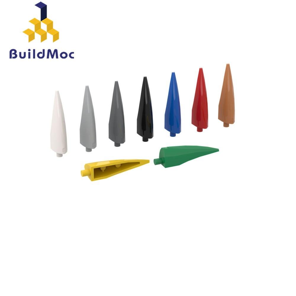 Buildmoc tuğla 11089 keskin pençe için yapı taşları parçaları DIY inşaat noel hediyesi oyuncak