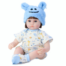 42CM Bebes Reborn Doll Realistic Soft Silicone Reborn Baby Doll Princess Doll Girl Toy Kids Best Birthday Christmas Gift Bonecas lovely christmas reborn doll silicone 16inch newborn baby doll realistic toddler doll kids birthday gift