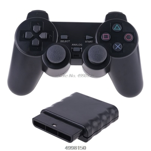 Image 2 - Wireless Gamepad Vibrator 2.4G Game Controller Joystick with Receiver for PS2 Dropship