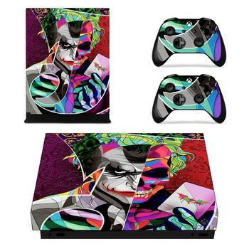 DC Film The Joker Full Faceplates Skin Console & Controller Decal Stickers for Xbox One X Console + Controller Skin Sticker 1