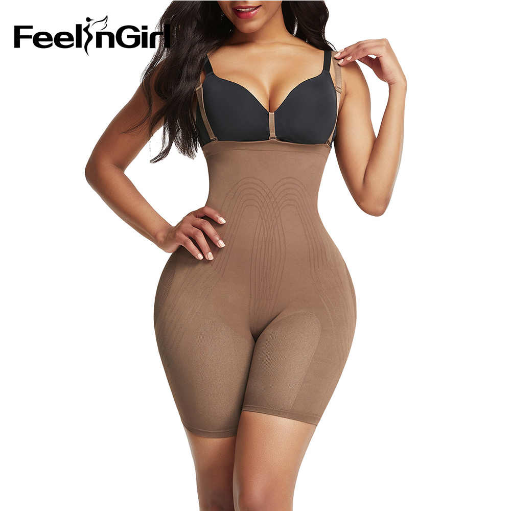FeelinGirl Pantal/ón Moldeador sin Costura Mujeres Faja Reductora Lumbar Shapewear Cors/é Adelgazar Abdominal Gluteos