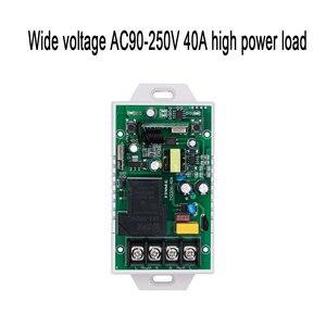 Image 5 - 433Mhz 40A TUYA Smart Life APP WIFI 1Gang 4000watts AC90 250V dernière version contrôle haute puissance climatiseurs, pompes, eau