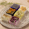 Rose Handmade Soap Essential Oil Soap Jasmine Lavender DIY Creative Soap Plant Flowers and Plants Skin Beauty Gift
