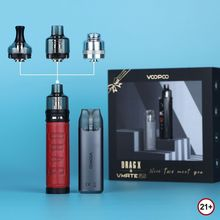 VOOPOO DRAG X / DRAG S and VMATE Pod Limited Edition 4.5ml Cartridge PnP-VM6 Vm5 Vaporizer Electronic Cigarette Gift Box