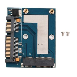 "New Hot Mini PCI-e MSATA To 2.5"" SATA Adapter Converter Card Module Blue Board Wholesale(China)"