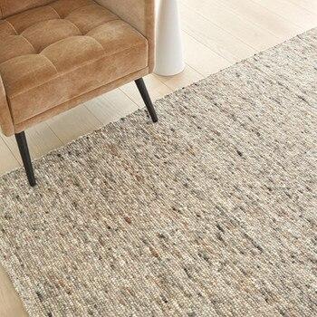 Alfombras para sala de estar, Tapetes de lana de grano marroquí tejidos...