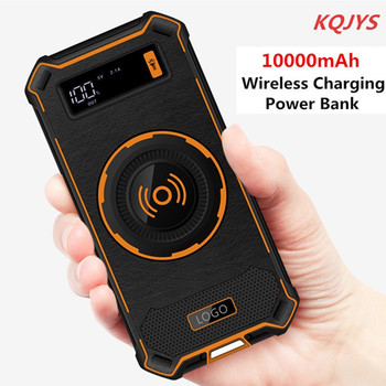 10000mAh kablosuz şarj güç bankası iPhone X 8 artı kablosuz telefon şarj güç bankası Samsung Galaxy S9 artı huawei P20