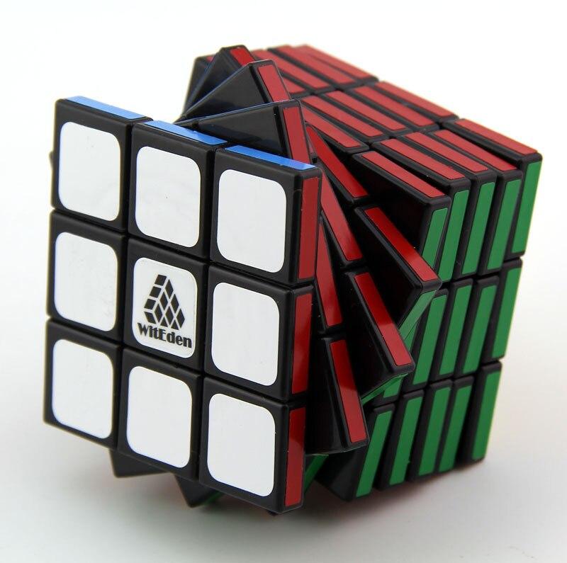 Sdip le yuan 339 Ⅰ Cube de Rubik génération noire guo bing 3X3X9 forme inhabituelle scalène Rubik Cube jouet