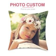 Fuwatacchi Наволочка на подушку под заказ, сделай сам, декоративная подушка для дома, квадратная наволочка с принтом, диванная Подушка 45*45 см