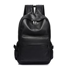 New Fashion Men Backpack Mens Backpacks for Teenager Luxury Designer PU Leather Backpacks Male High Quality Travel Backpacks
