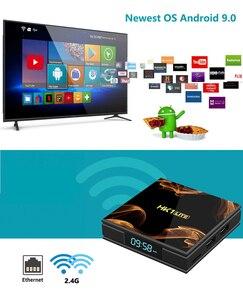 Image 3 - HK1Lite アンドロイド 9.0 スマート tv ボックス 2 ギガバイト DDR3 16 ギガバイト 2.4 3g wifi 4 18k RK3228A クアッドコア H.265 メディアプレーヤー pk hk1mini x96