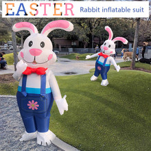 Outfit Game Outdoor-Toys Inflatable-Toys Easter Costume Jumpsuit Cosplay Rabbit Dress
