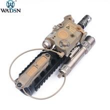 WADSN Страйкбол Тактический Двойной разъем 2,5 мм двойная функция увеличенного давления переключатель для PEQ15 M3X светильник Dbal-A2 PEQ-16A An/PEQ