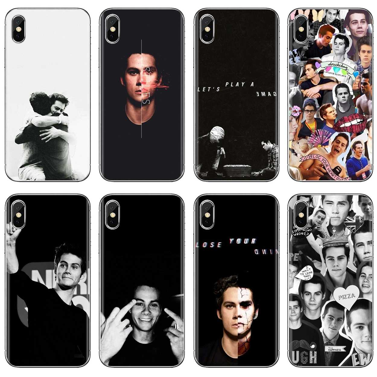 For Huawei G7 G8 P7 P8 P9 P10 P20 P30 Lite Mini Pro P Smart 2017 2018 2019 Soft Case Covers Teen Wolf Tv Show Dylan O'brien