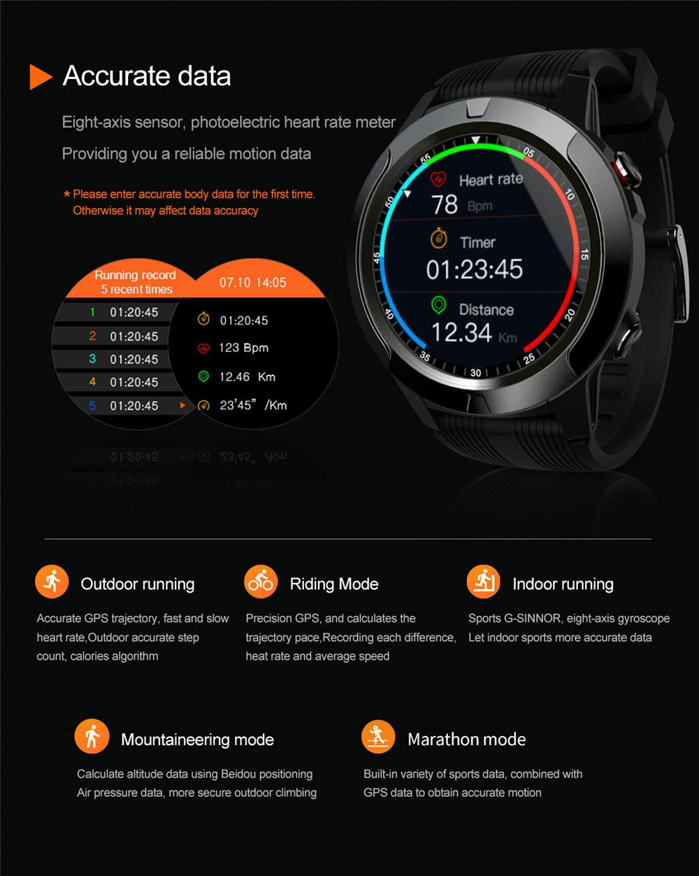 H9307ceb612c149e29ec2b9814769d3c36 2020 Built-in GPS Smart Watch GSM bluetooth Call Phone Air Pressure Heart Rate Blood Pressure Weather Monitor Sport Smartwatch