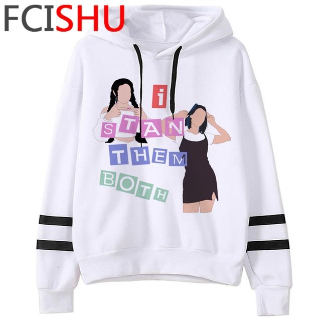 Fashion Charli Damelio Merch Ice Coffee Graphic Hoodies Women Harajuku Ullzang Funny Cartoon Sweatshirt Wimter Warm Hoody Female 2