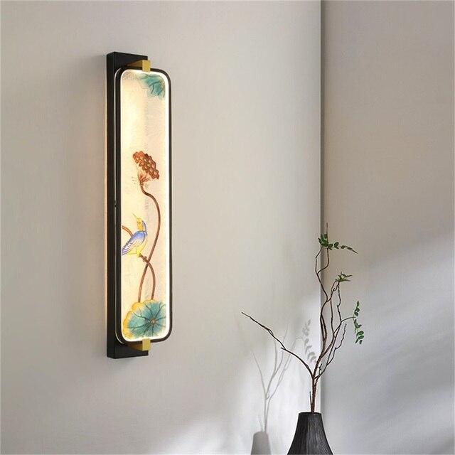 Фото современные настенные светильники oufula оригинальные комнатные