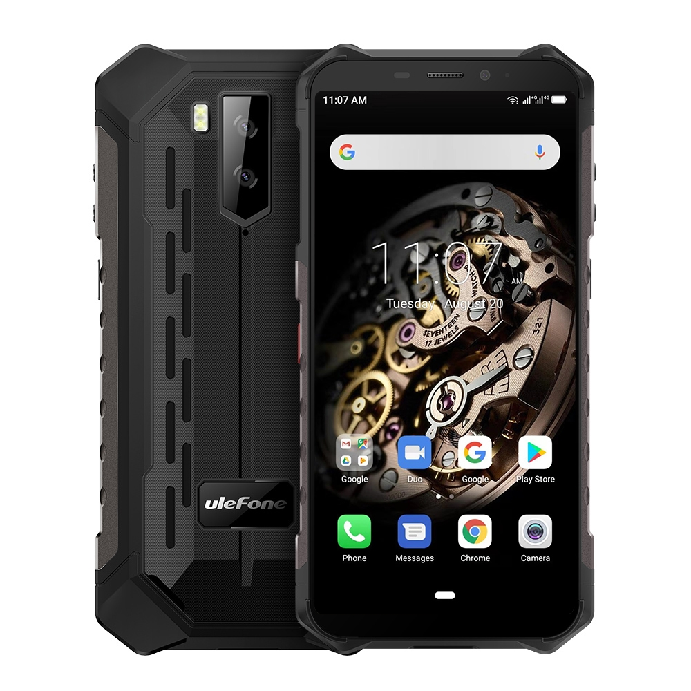 "Ulefone Armor X5 Rugged Mobile Phone 5.5"" Android 9.0 MTK6763 Octa Core Cellphone 3GB+32GB Face ID 5000mAh OTG NFC Smartphone"