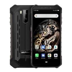 Ulefone Power X5 прочный мобильный телефон 5,5 дюймAndroid 9,0 MTK6763 Восьмиядерный мобильный телефон 3 ГБ + 32 ГБ Face ID 5000 мАч OTG NFC Смартфон