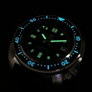 Image 2 - Steel Dive Abalone Dive Watch 200M Waterproof automatic watch men Sapphire Crystal Stainless Steel NH35 Automatic Mechanical Men