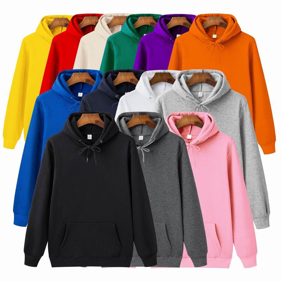 New Casual Yellow Green Pink Purple Orange  HOODIE Hip Hop Street Wear Sweatshirts Skateboard Men/Woman Pullover Hoodies Male