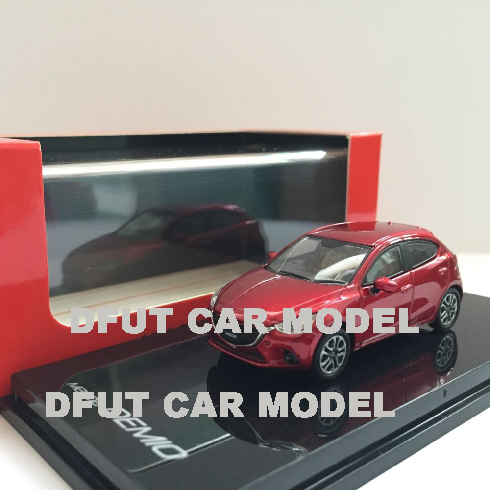 1:64 Alloy Toy Sports Car Model DEMIO Of Children's Toy Cars Original Authorized Authentic Kids Toys Gift