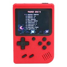 3 inch Handheld Retro FC Game Consoles Built in 400 Games 8 Bit Game Player Classic Handheld Game Players Gamepads Dropshiping