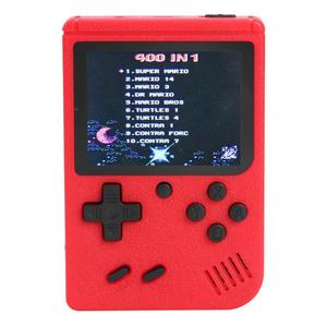 3 inch Handheld Retro FC Game Consoles Built-in 400 Games 8 Bit Game Player Classic Handheld Game Players Gamepads Dropshiping