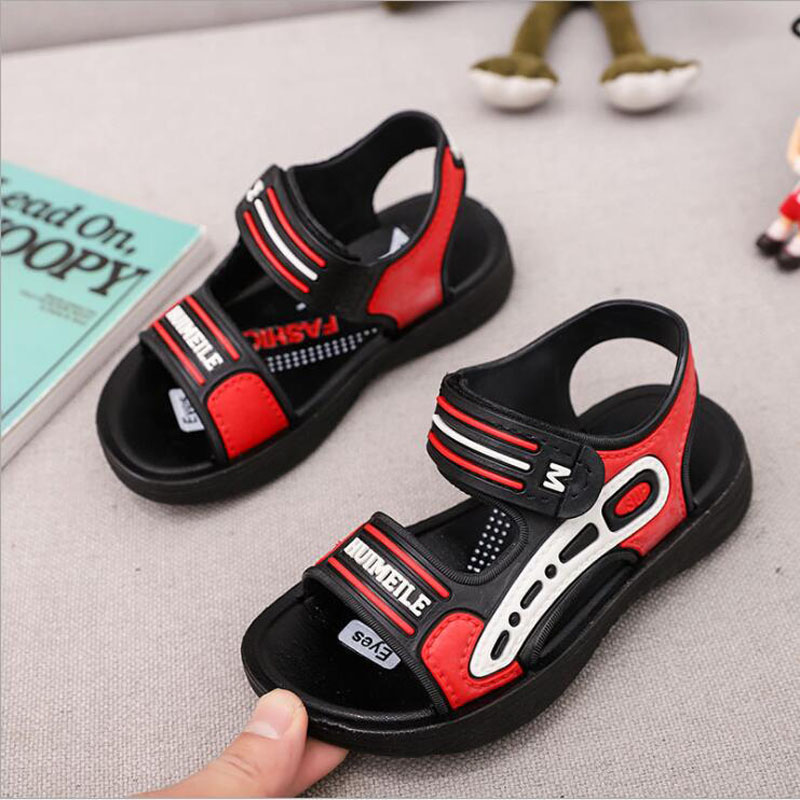 2020 Summer Kids Sandals Toddler Baby Boys Shoes Anti-Slip Casual Children Shoes Chaussure Fille Sport  Flat Sandals Size 22-37