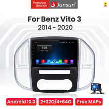 Junsun V1 Pro 4G Android 10.0 4G + 64G Mobil Radio Multimedia Player For Mercedes Benz Vito 3 2014 - 2020 GPS Navigasi Tidak 2din Dvd(China)