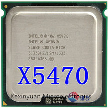 INTEL XONE X5470 CPU INTEL X5470 PROCESSOR 771 quad core 3.3MHZ LeveL2 12M Work on LGA 771 motherboard