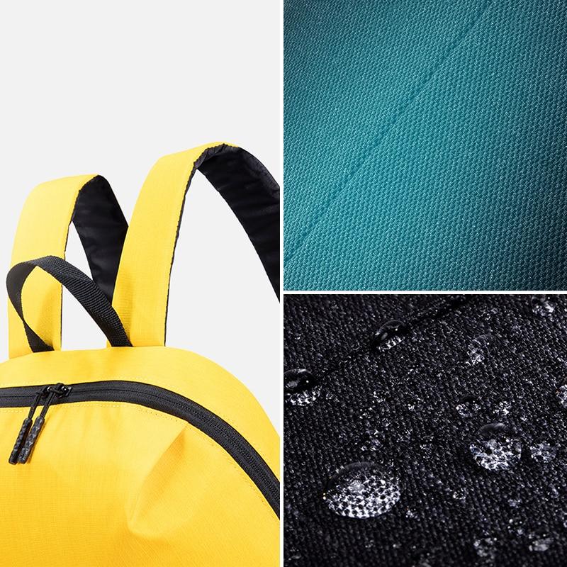 Повседневный Рюкзак Xiaomi Mi 10L, оригинальная спортивная сумка для отдыха, легкая городская сумка унисекс