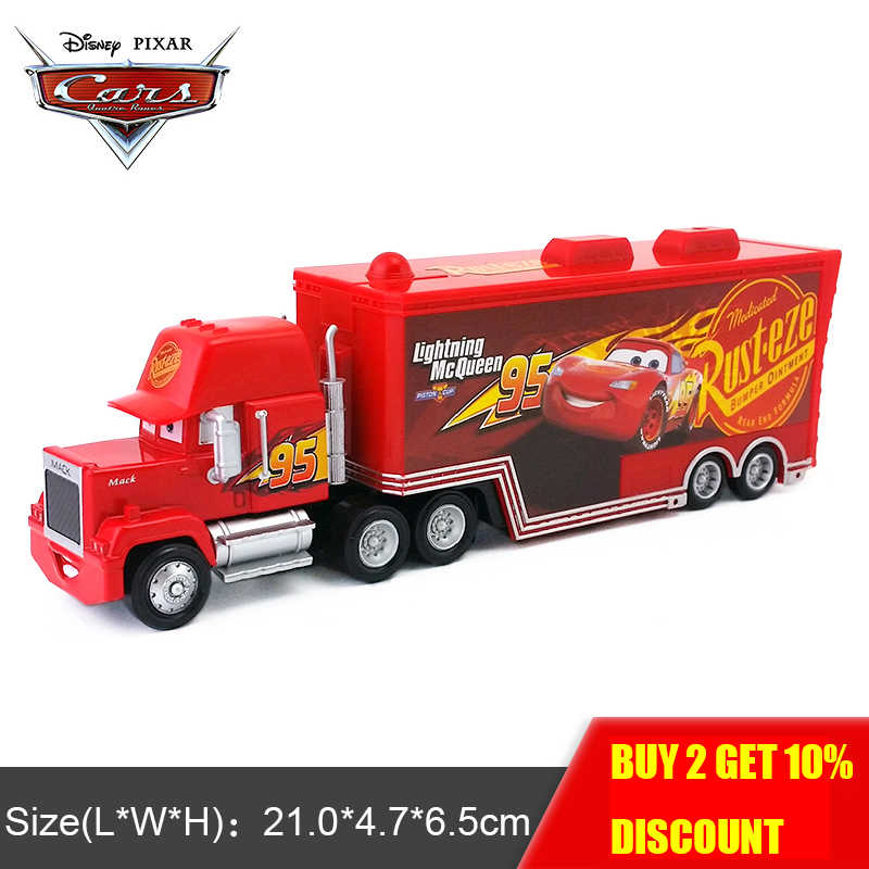 Disney Pixar Cars 3 Mack Hauler Truck Uncle 1 55 Vehicle Educational Toys Car Model For Boys Children Birthday Gift Diecasts Toy Vehicles Aliexpress